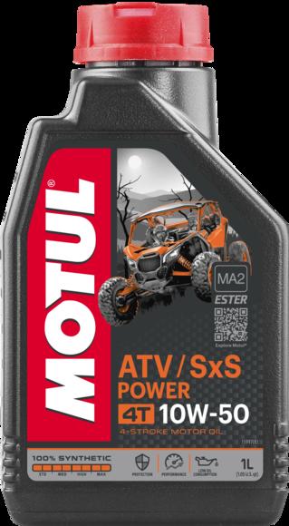 ATV-SXS POWER 4T 10W50 12X1L