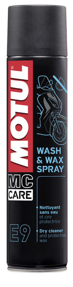 E9 WASH & WAX SPRAY 12X0.400L