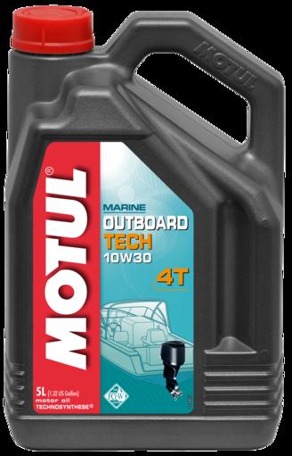 OUTBOARD TECH 4T 10W30 4X5L