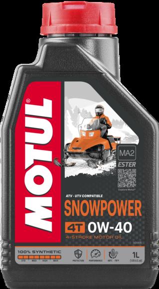 SNOWPOWER 4T 0W40 4X4L