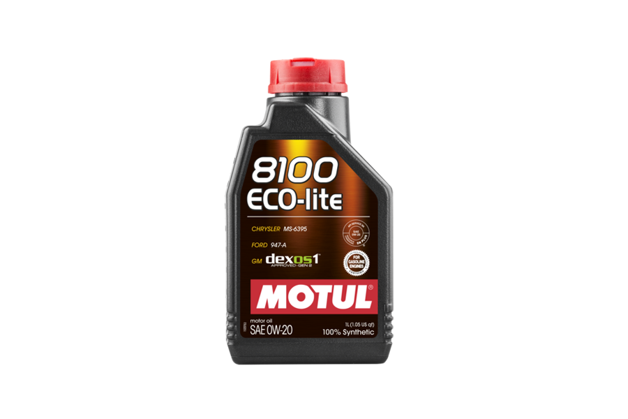 8100 ECO-LITE 0W20 4X5L