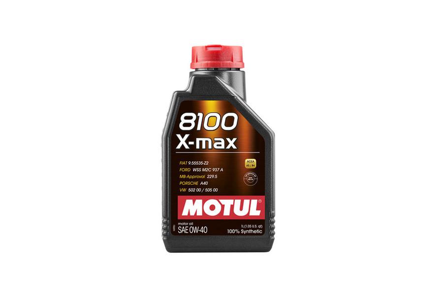8100 X-MAX 0W40 4X5L