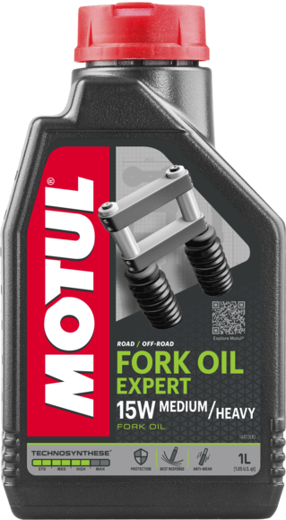 FORK OIL EXPERT MEDIUM/HEAVY 15W 6X1L