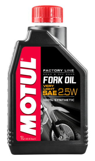 FORK OIL FACTORY LINE VERY LIGHT 2.5W 6X
