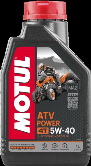 ATV POWER 4T 5W40 12X1L