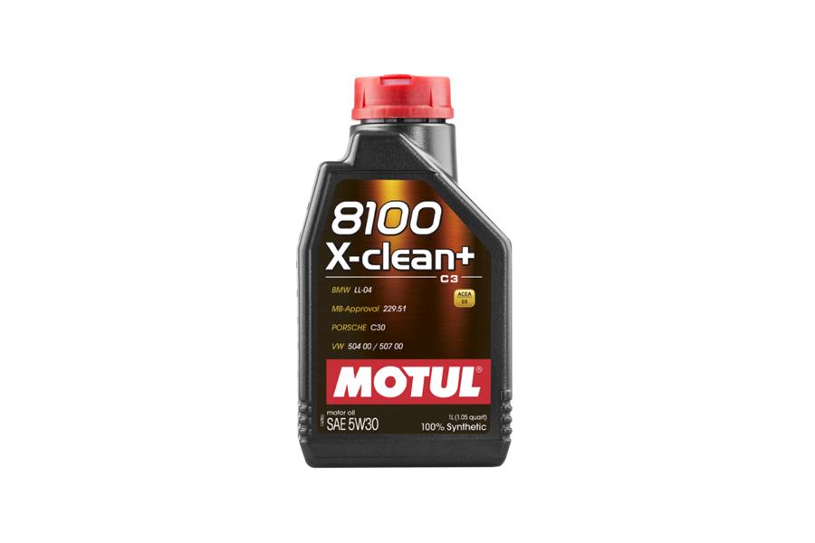8100 X-CLEAN + 5W30 12X1L