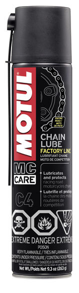 C4 CHAIN LUBE FL 12X0.400L