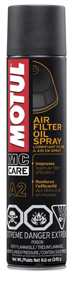 A2 AIR FILTER OIL SPRAY 12X0.400L