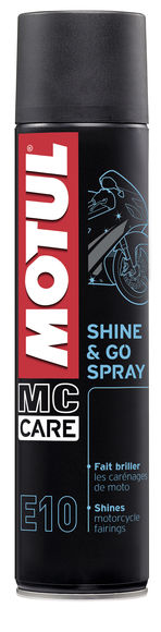 E10 SHINE & GO SPRAY 12X0.400L
